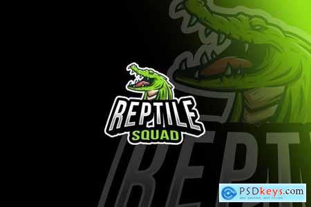 Reptile Squad Esport Logo Template