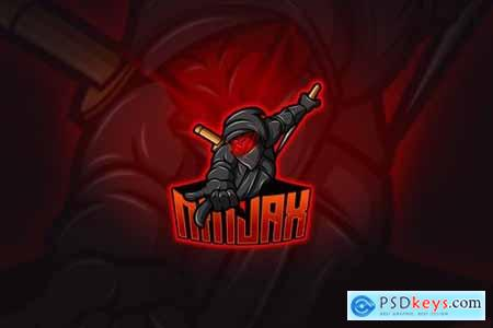 Ninja - Mascot & Esport Logo
