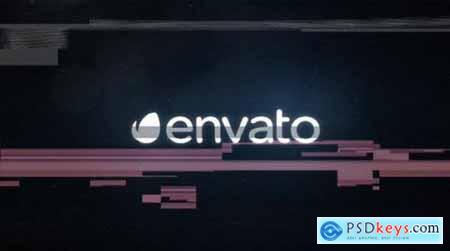 Videohive Digital Glitch Logo 10695070