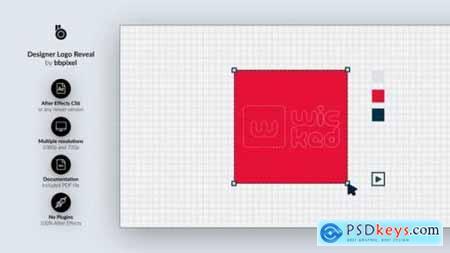 Videohive Designer Logo Reveal 24793156