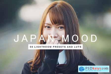 50 Japan Mood Lightroom Presets LUTs 4435306