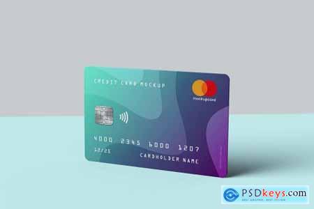 Credit Card Membership Card MockUp 4404874
