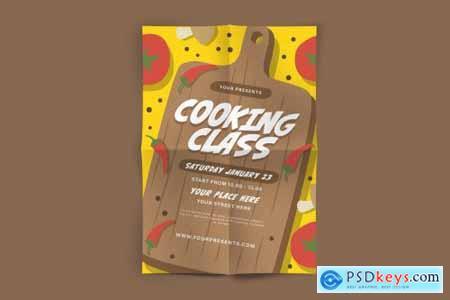 Cooking Class Flyer 4451337