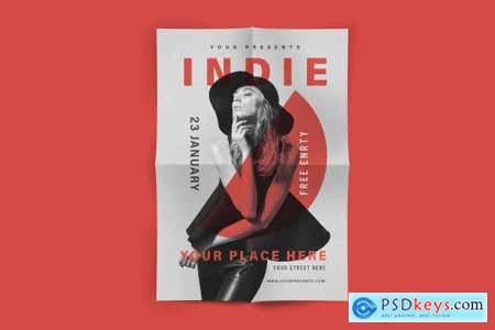 Indie Music Flyer 4451387