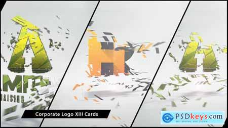Videohive Corporate Logo XIII Cards 7237189