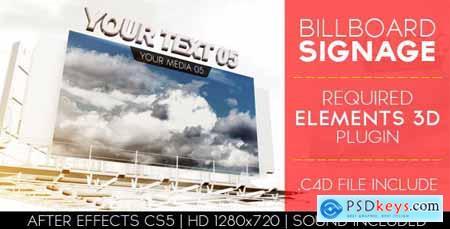 Videohive Billboard Signage 5475892