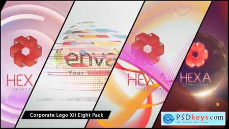 Videohive Corporate Logo XII Eight Pack 7092667