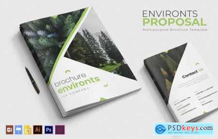 Environts Brochure Template