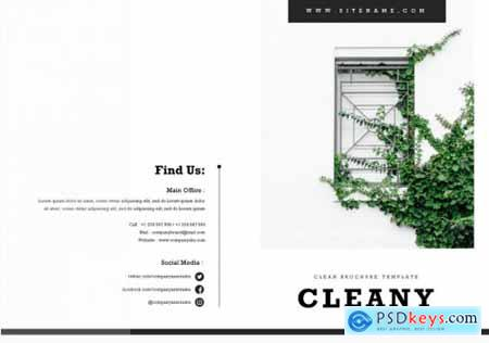 Cleany Brochure Template
