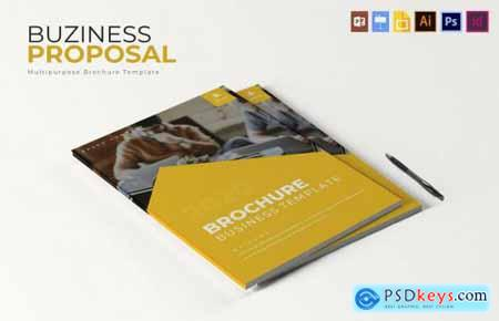 2020 Business Brochure Template