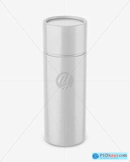 Glossy Paper Tube Mockup 51211