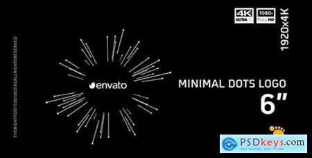 Videohive Minimal Dots Logo 21458177