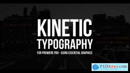 Videohive 100 Kinetic Titles 21780143