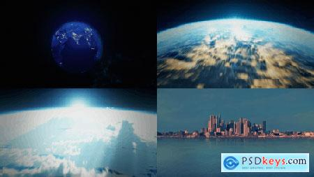 Videohive Earth Zoom 15312373