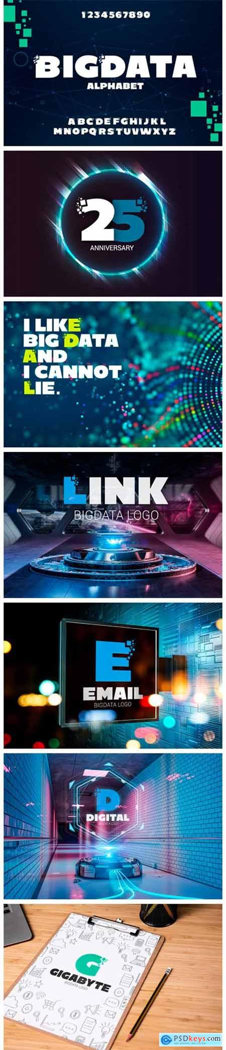 Big Data Alphabet 2402330