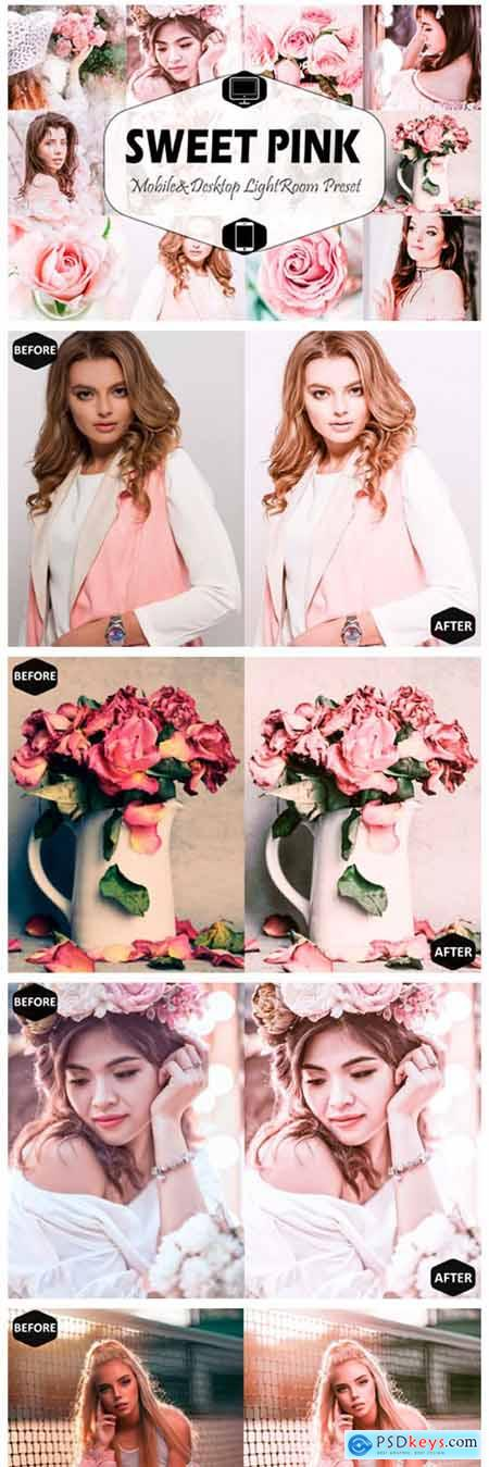 Sweet Pink Mobile & Desktop Lightroom 2449702