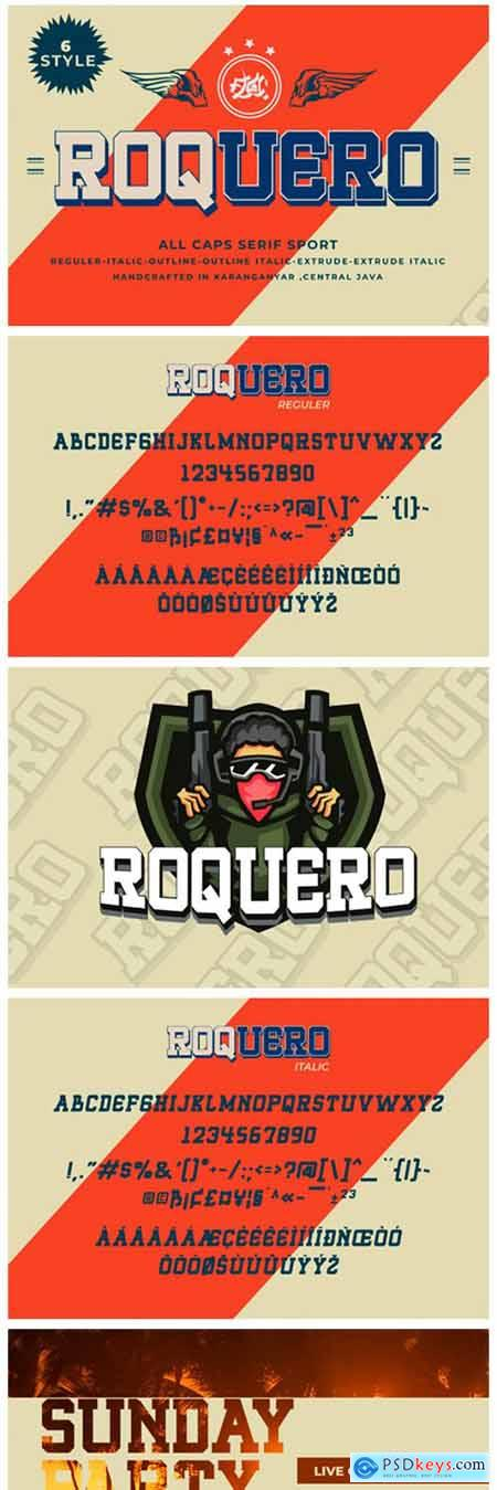 Roquero Font