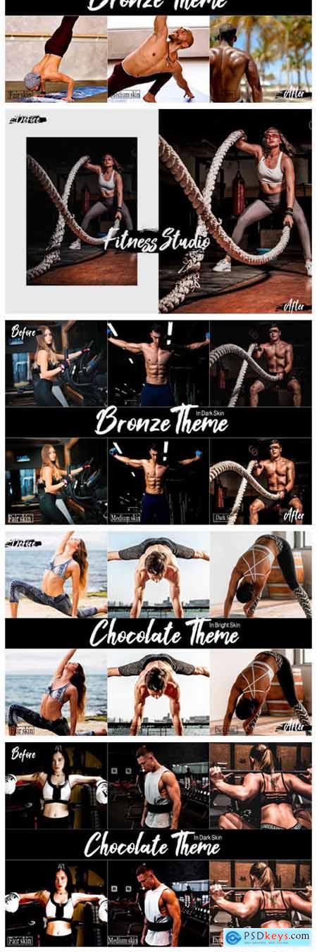 Fitness Studio Desktop Lightroom Presets 2449228