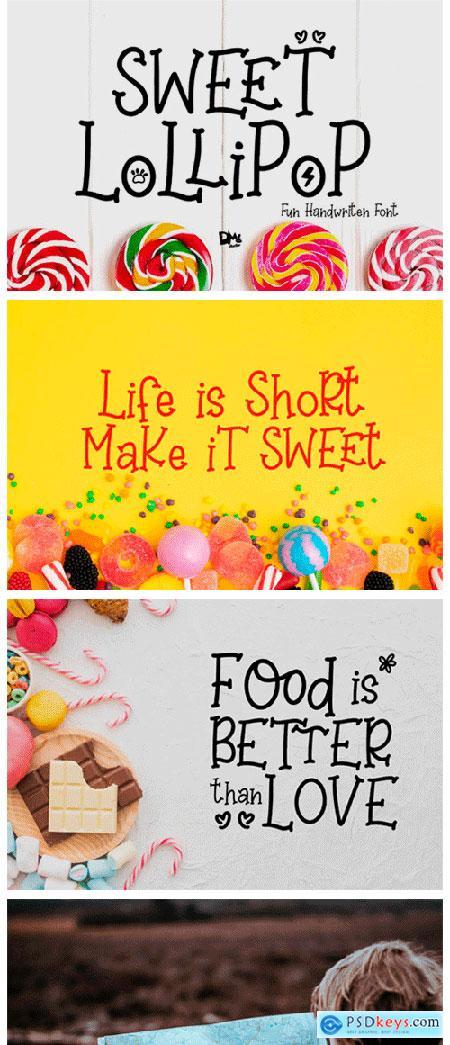 Sweet Lollipop Font