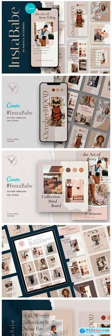 InstaBabe - Canva Posts & Stories 2450135