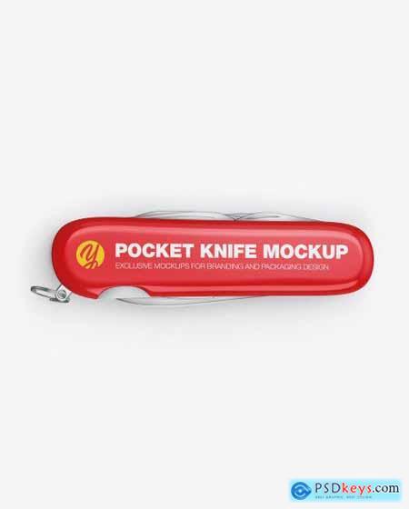 Pocket Knife Mockup 53472