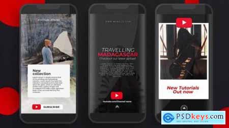 Videohive YouTube Instagram Stories 25444349