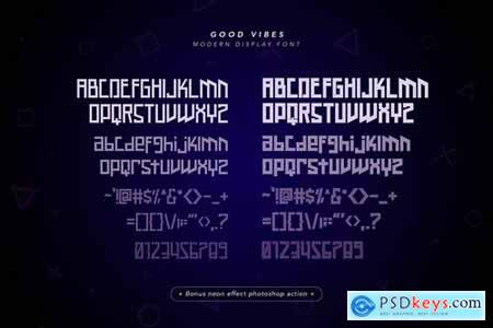 Good Vibes Modern Display Font 4444220