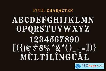 Bearmen Vintage Typeface