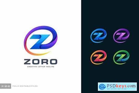 Letter Z Color Logo Template