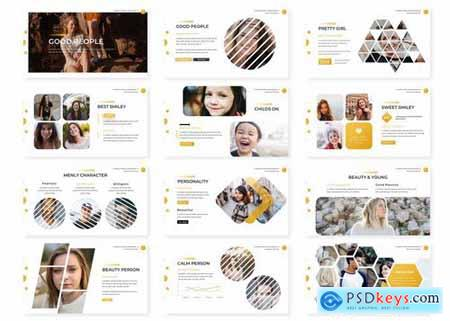 People - Powerpoint Google Slides and Keynote Templates