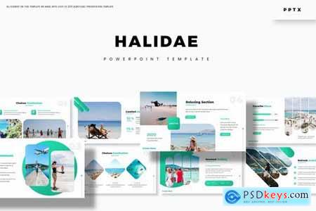 Halidae - Powerpoint Google Slides and Keynote Templates