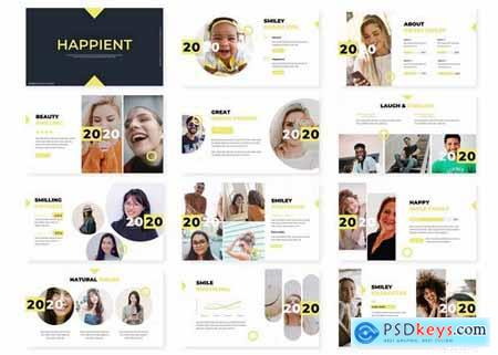 Happient - Powerpoint Google Slides and Keynote Templates