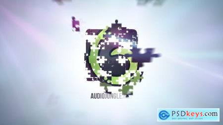 Videohive Puzzle Clean Logo 12692755