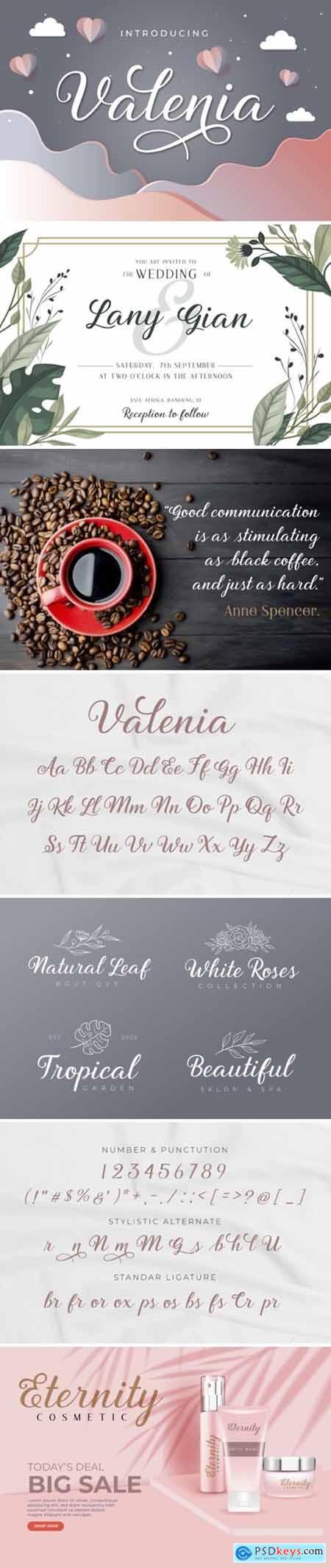 Valenia Font