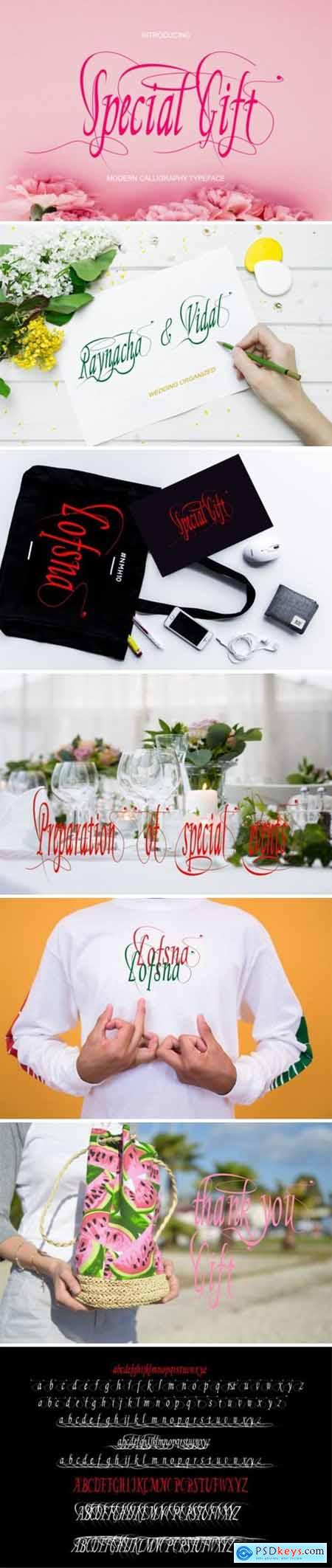 Special Gift Font