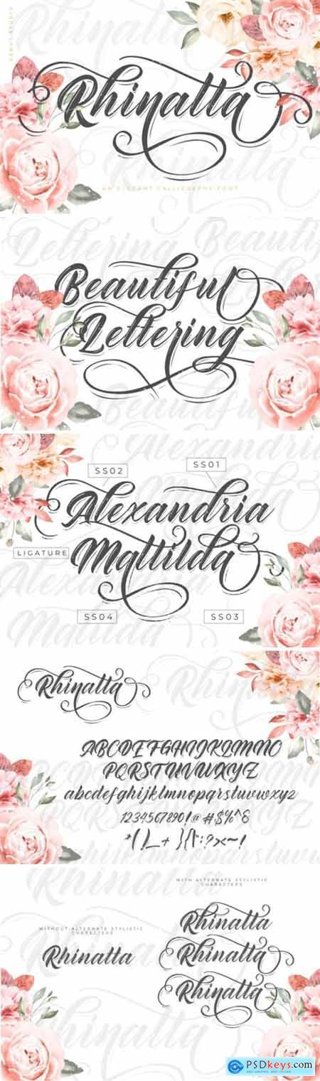 Rhinatta Font