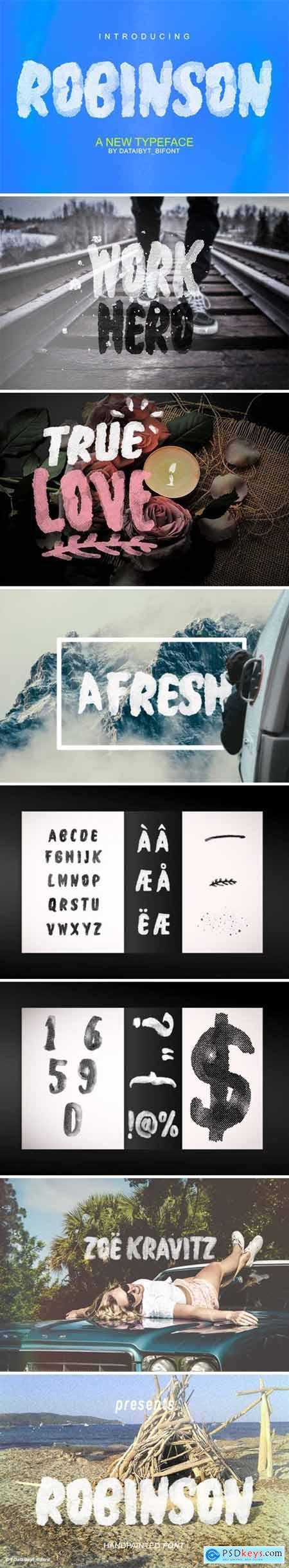 Robinson Font