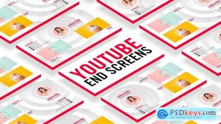 Videohive YouTube End Screens 25418754