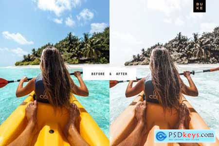 5 Coconut Lightroom Presets Pack 3862010