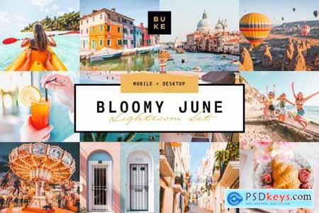 Bloomy June Lightroom Preset 3831604