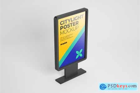 Citylight Poster Mockup Set 4430473