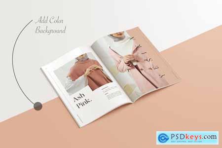 A4 A5 Magazine Brochure Mockup 4330891