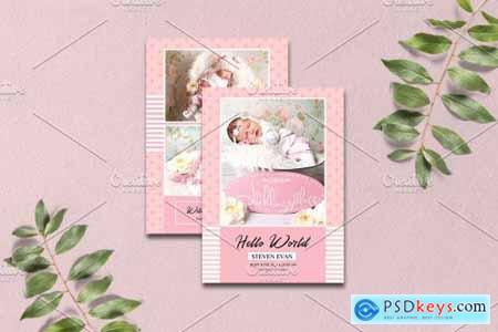 Birth Announcement Template-V15 4041246