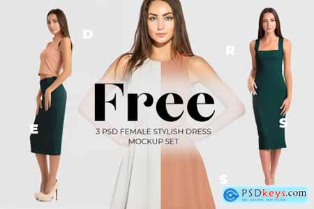 Free Female Dress Mockups 431793