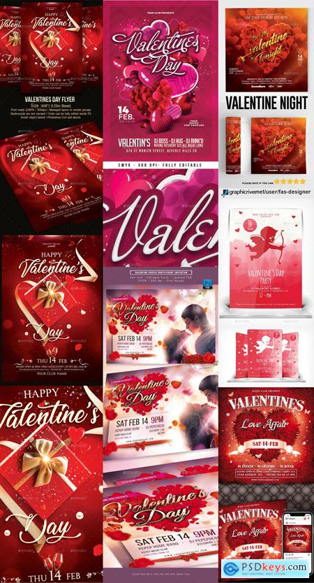 Flyer Valentines Template Vip Part 1 PREVIEW