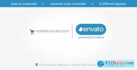 Videohive Minimal Marketplace Logo 8888241