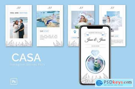 Casa - Instagram Story Pack