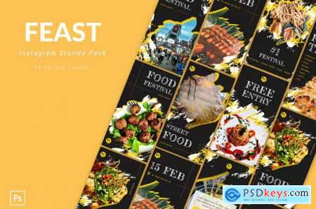Feast - Instagram Story Pack