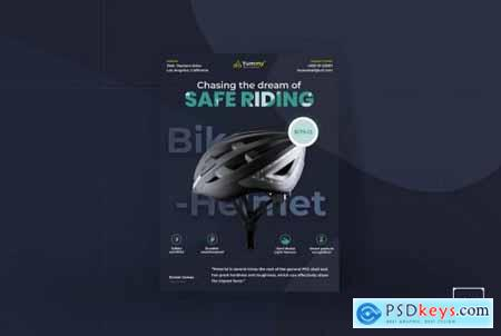 Bike Helmet Template