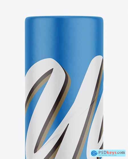 Matte Paper Tube Mockup 53478